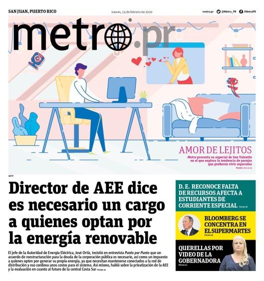 Periodico Metro - 13 feb. Investigacion 2